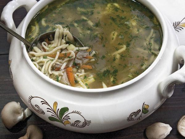 Как приготовить из вешенок суп рецепт